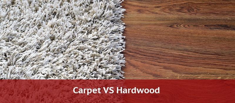 Carpet Compared to Hardwood Flooring