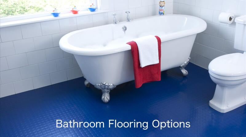 Bathroom Flooring Options While The Doesn T Get Heavy Foot Traffic Or Lots Of Dirt It Is Subjected To Plenty Water And Sometimes Spills