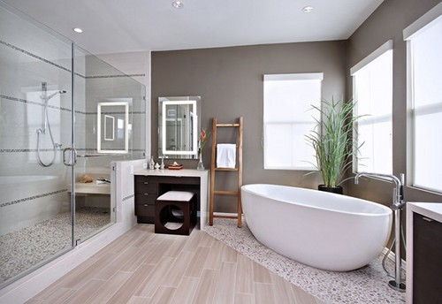 tile that looks like wood best wood look tile reviews working with tile means that you can very easily mix and match different tile sizes or types to create interest or to delineate a space, for example this