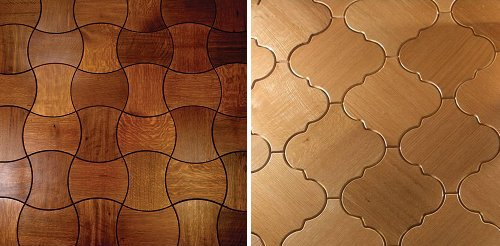 Also In The Mix Are The Creative Efforts Of The Family Run UK Based Parquet  Company McKay Flooring Ltd Who Are Doing Fun Things Like Delineating  Different ...