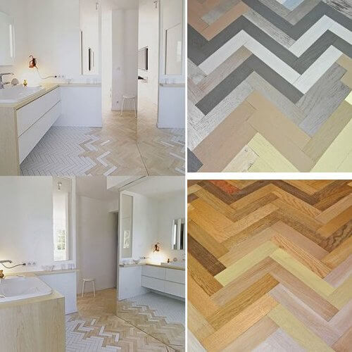 New parquet wood flooring trends for Latest floor tile trends