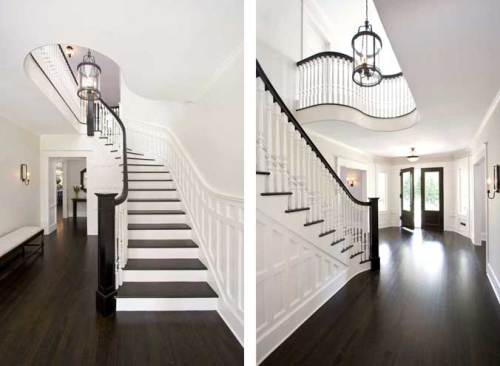avoid glossy dark hardwood floors - Dark Wood Flooring
