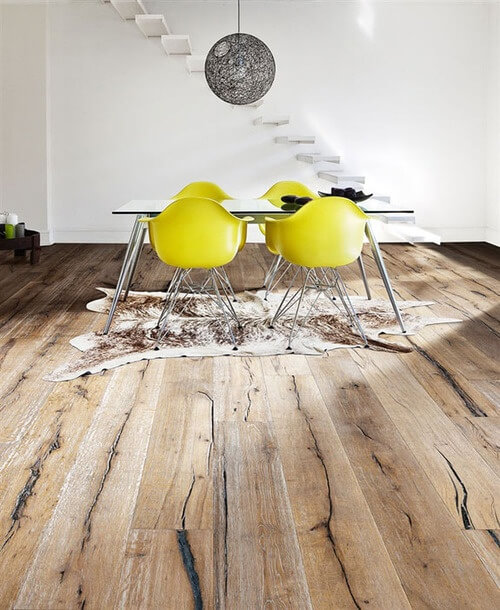 Old Solid Wood Floor