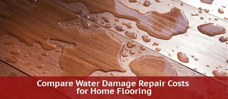 Compare Water Damage Repair Costs For, Bathroom Floor Repair Water Damage Cost