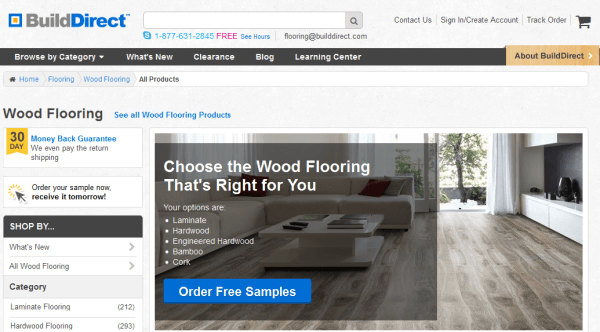 Builddirect - 36 Best Places To Buy Hardwood Flooring HomeFlooringPros.com