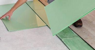 sheet flooring underlayment