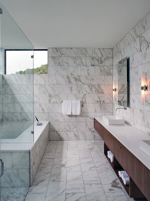 30 bathroom flooring ideas designs and inspiration - Flooring Bathroom Ideas