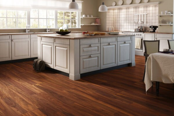 Laminate Flooring In A Kitchen top style gray is a top trend we love and this gorgeous laminate floor Laminate Flooring In The Kitchen Pros Cons Options And Ideas Homeflooringproscom