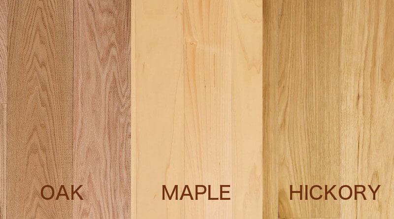 Oak Flooring Vs Maple And Hickory Flooring Homeflooringpros