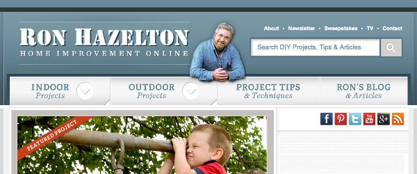 If Youu0027re New To The World Of Renovation Websites, Ron Hazelton Is A  Leading Authority In The DIY Home Improvement Field, And Is The Host Of His  Own Home ...