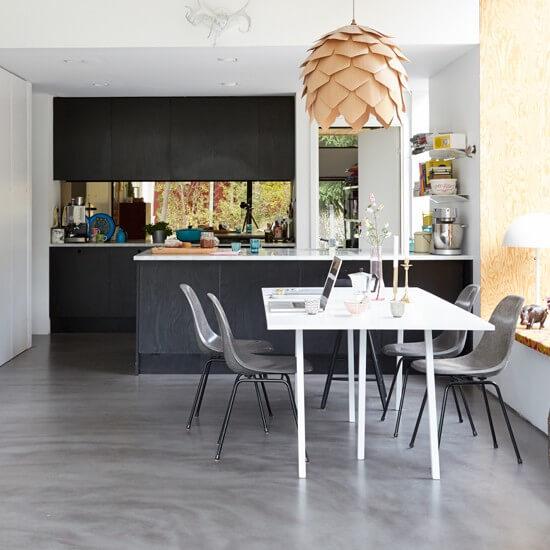 Concrete Kitchen Floors – Pros & Cons, Ideas, Costs ...