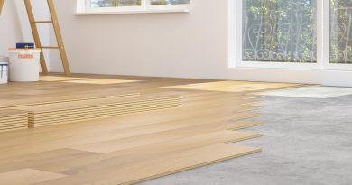 installing laminate over concrete floor