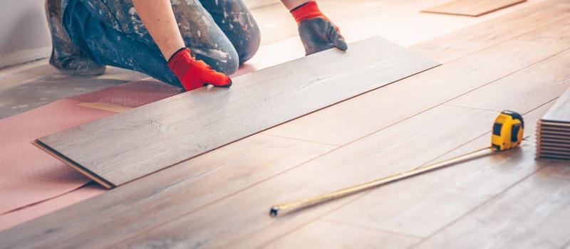Install Laminate Flooring Over Concrete, How To Prepare Install Laminate Flooring