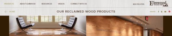 Elmwood Reclaimed Timber