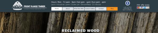 Front Range Timber