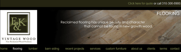 Where to buy reclaimed wood best places to buy reclaimed for Reclaimed hardwood flooring los angeles