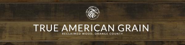True American Grain Reclaimed Wood