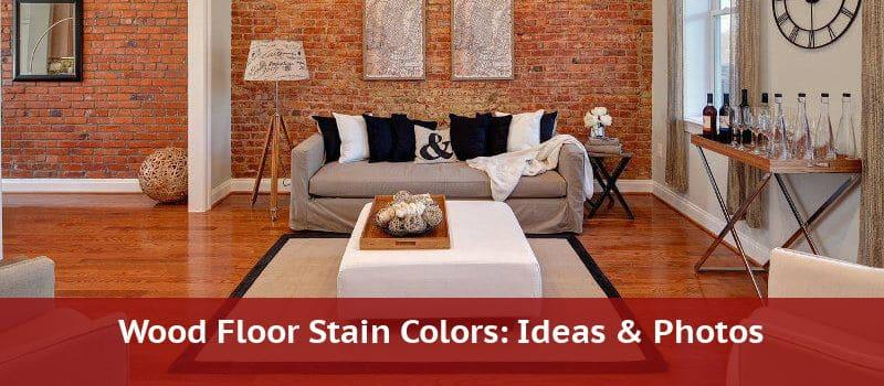 hardwood stain colors