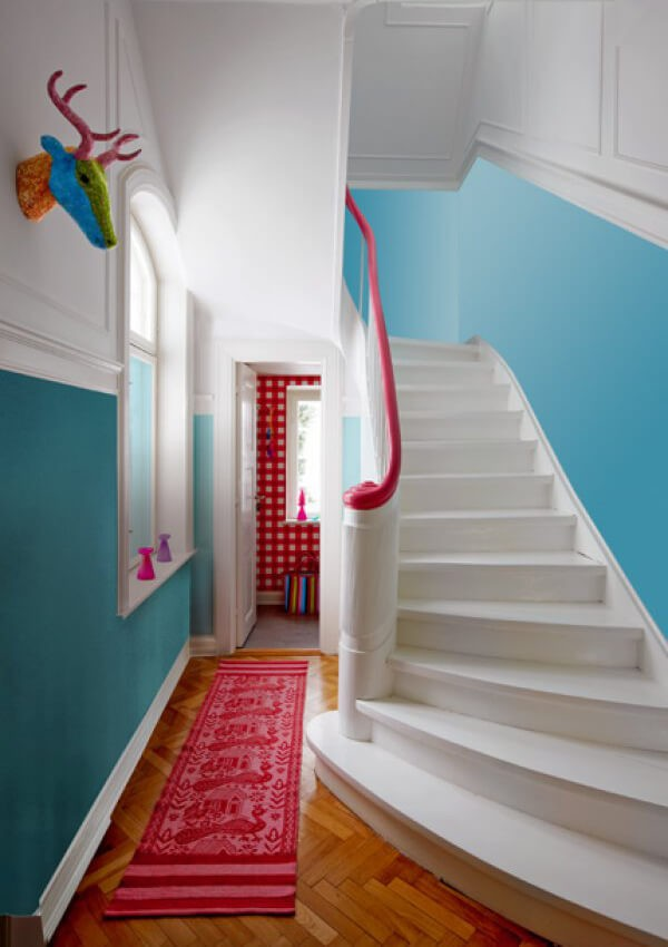 Painted Floor Ideas painted floors & steps: 22 top design ideas using colors and patterns