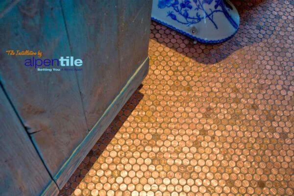 penny bathroom floor