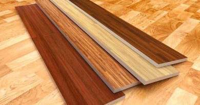 selection of hardwood flooring styles