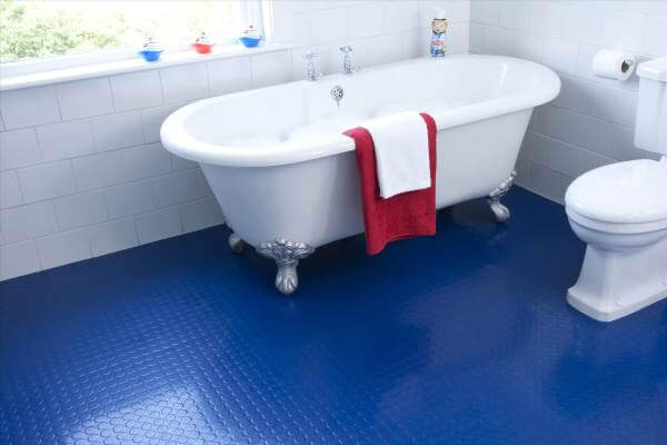 residential rubber flooring: rubber tiles, rolls and mats in your home
