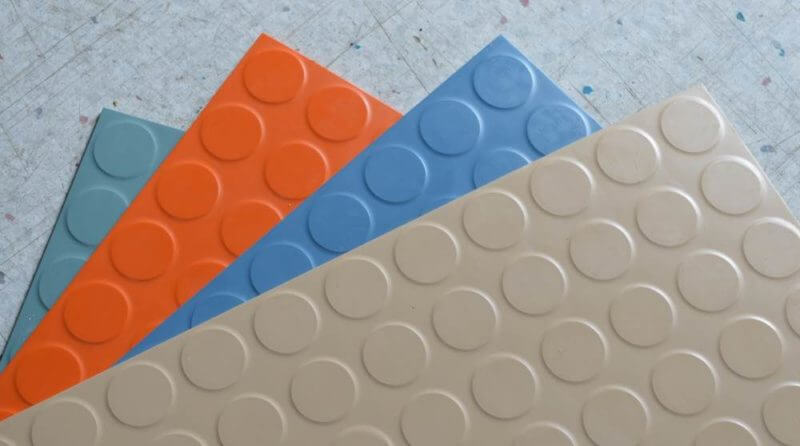 Residential Rubber Flooring Tiles Rollats In Your