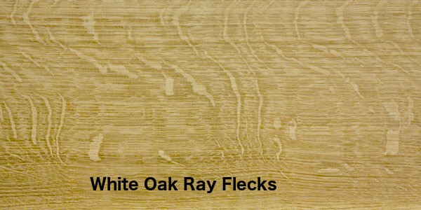 Show Up The Large Ray Flecks In White Oak That Run Counter To Grain However This Is Not A Very Common Type Of Flooring On Market