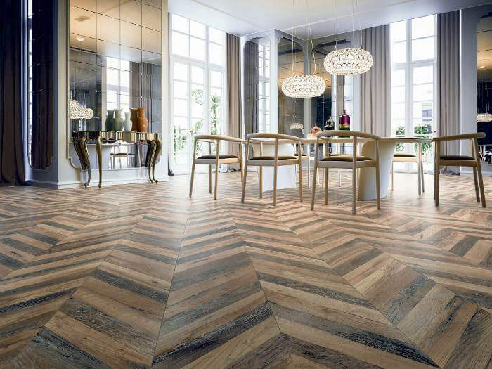 Wood Look Tile Flooring 2018 (5 Top Ideas and Trends)