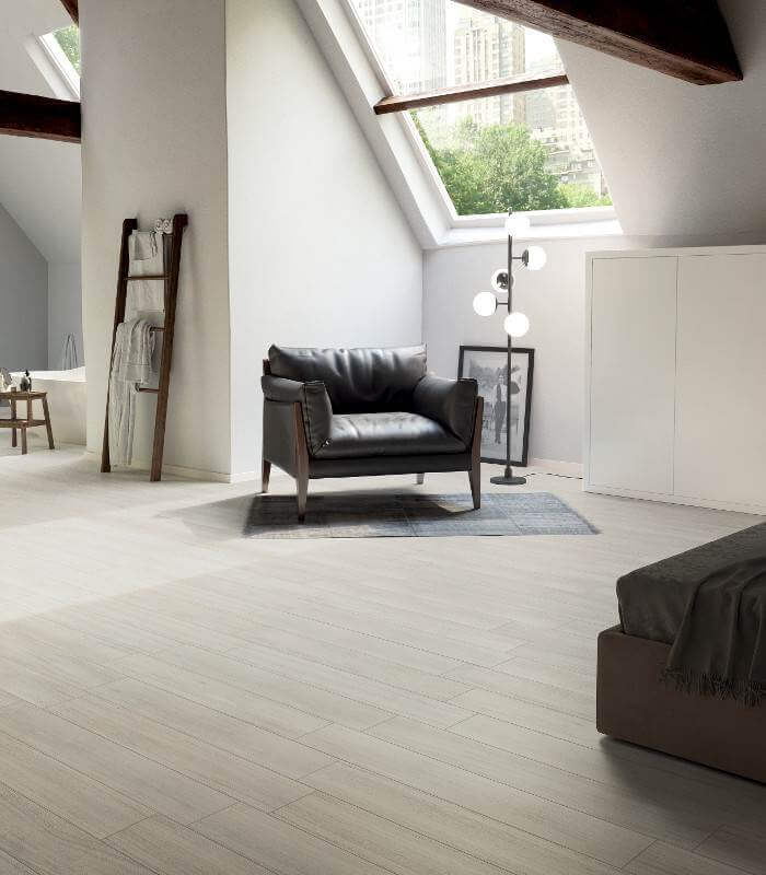 The Faber Collection Of Wood Look Tile With It Fine Texture And Delicate Grain Gives A Simple Clic Backdrop To Any Room