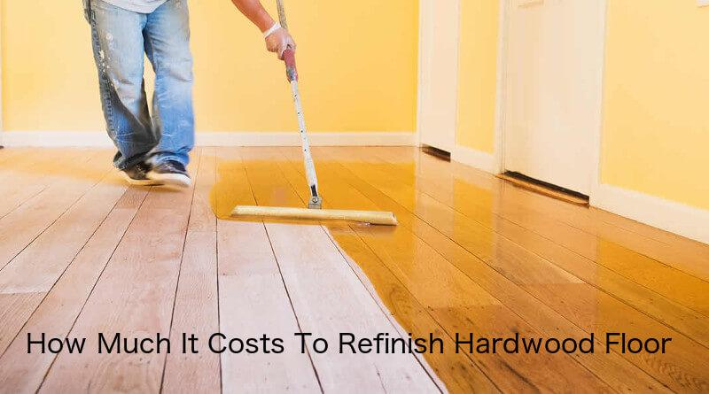 Welcome To The Home Flooring Pros Where Today We Re Looking At National Average Hardwood Refinishing Costs Based On Type Of Wood Floor Refinish