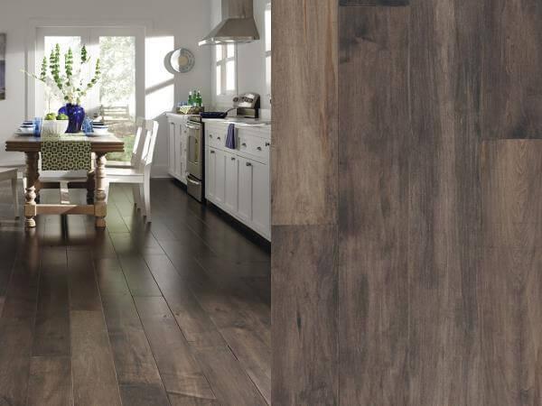 Hardwood Floors In The Kitchen Proscons Kitchen Wood Look Options