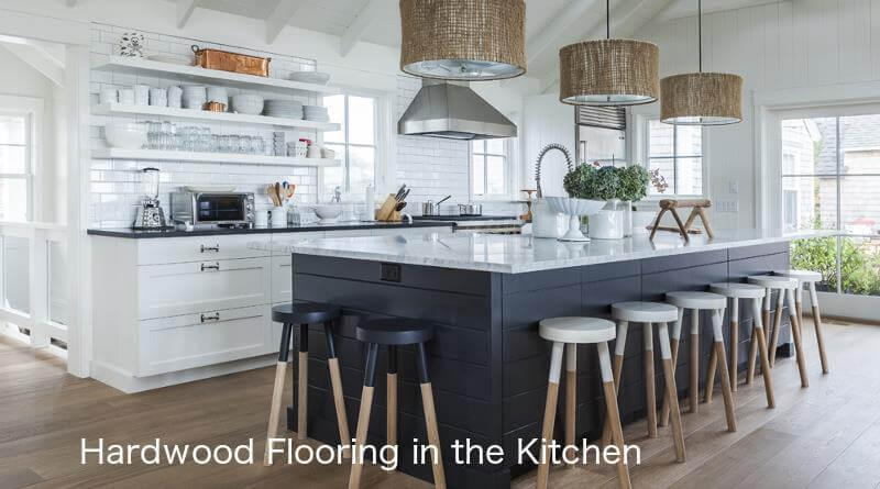 Hardwood Floors In The Kitchen Proscons Kitchen Wood Look Options