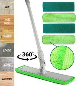 Best Microfiber Mop Turbo Hardwood Floor Cleaner