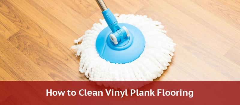 cleaning vinyl plank flooring