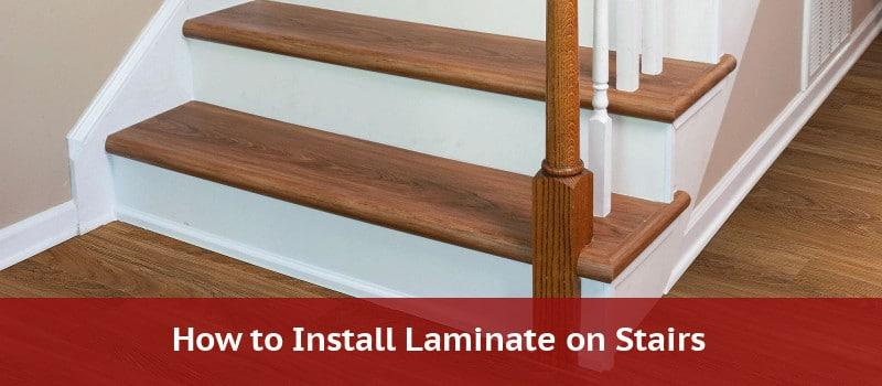 laminate on stairs