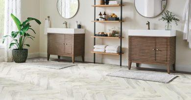 Vinyl Flooring for Bathrooms | 2021 Options, Installation & Best Brands